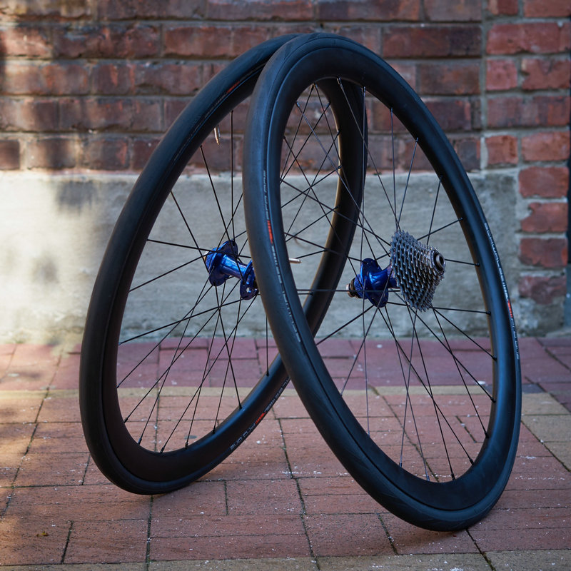 DX38S carbon wheelset with Chris King hub