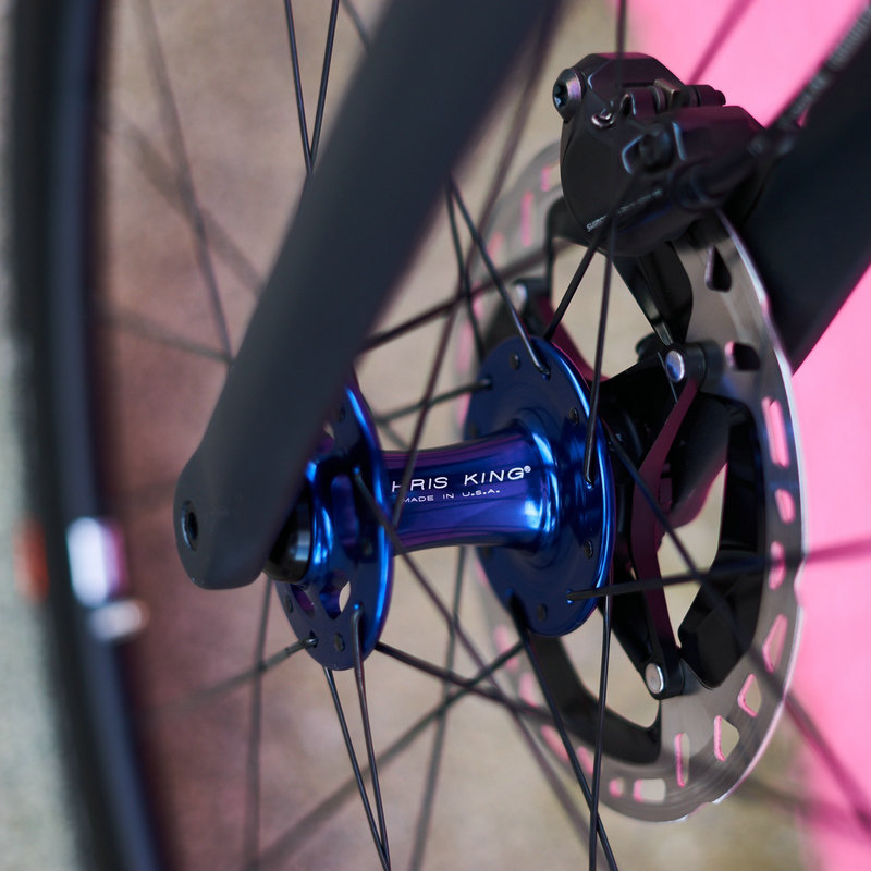 Chris King front carbon wheel DX38S