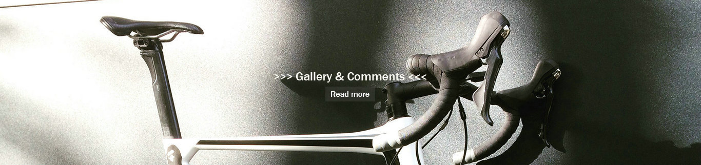 Carbonal bike product gallery and comments from customers worldwide